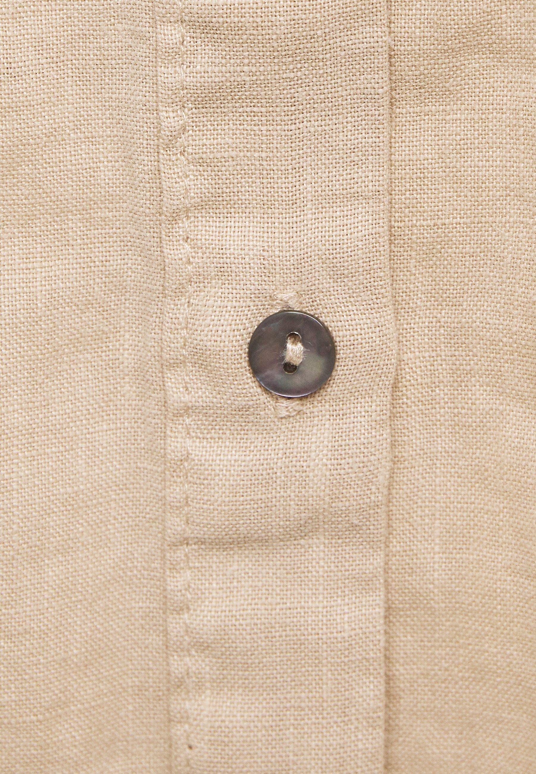S.oliver Langarm - Hemdbluse Brown Black Friday