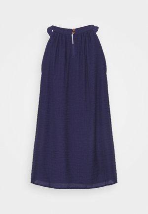 ÄRMELLOS - Blouse - dark steel blue