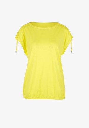 MIT RAFFUNG - Blouse - yellow