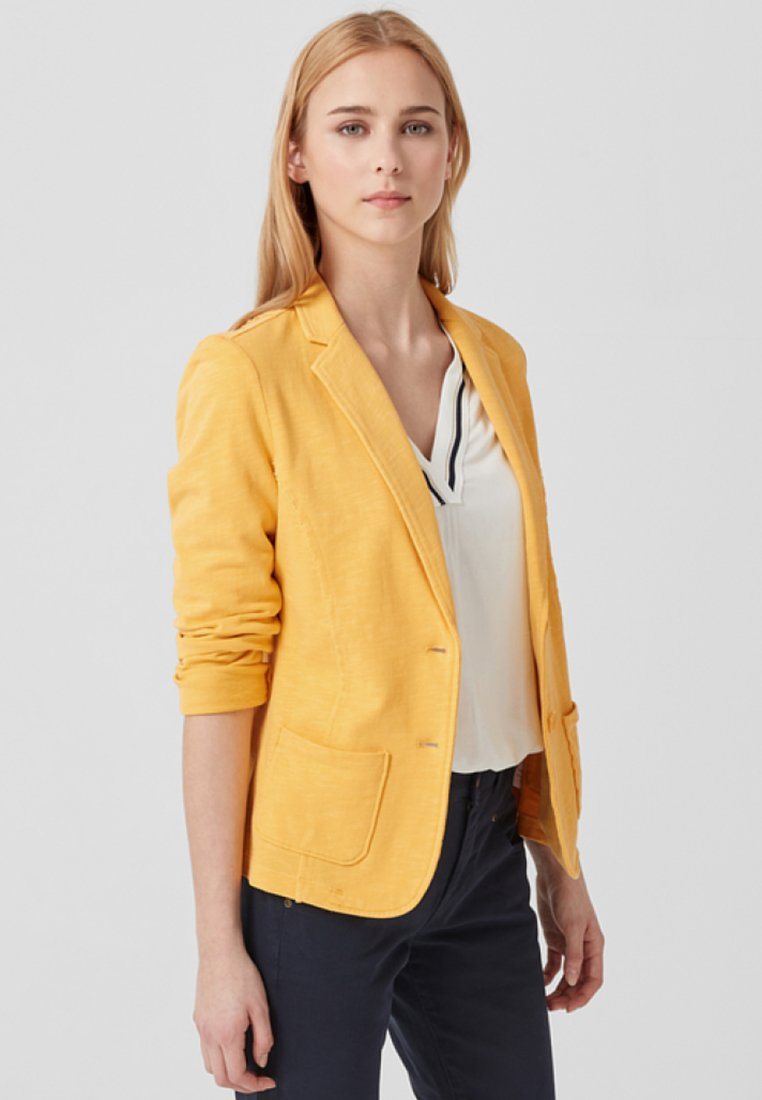 s.Oliver - Blazer - pure yellow