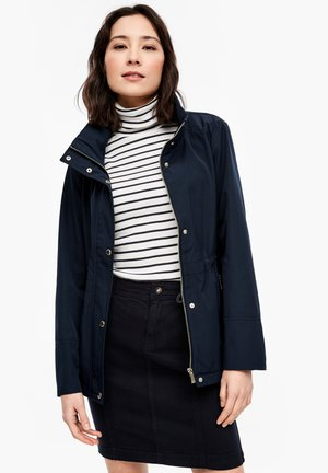MIT STEHKRAGEN - Light jacket - navy