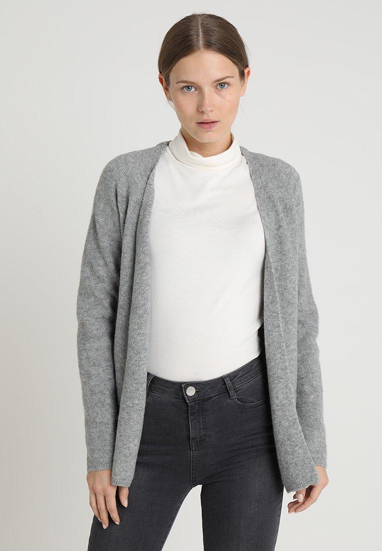 s.Oliver - LANGARM - Cardigan - silver grey melange