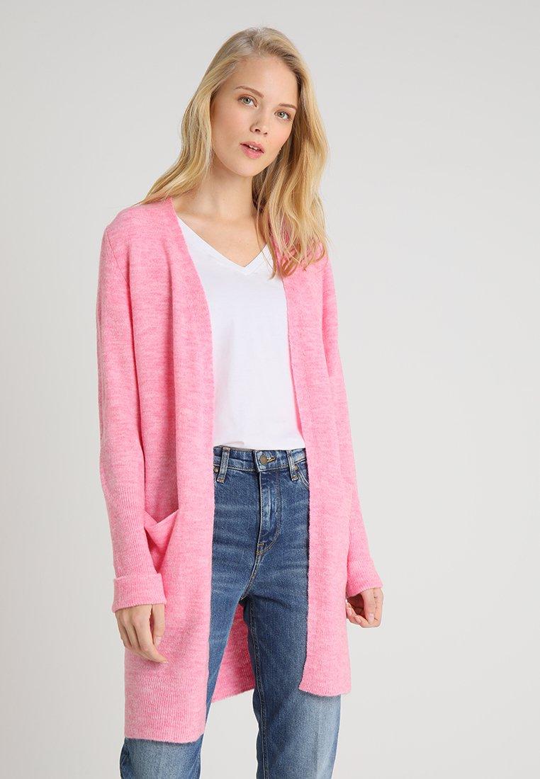 s.Oliver - LANGARM - Strickjacke - candy pink melange