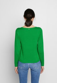 s.Oliver - LANGARM - Sweter - neon green - 2