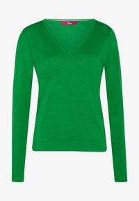 s.Oliver - LANGARM - Sweter - neon green - 3