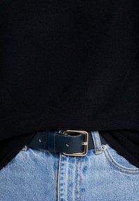 s.Oliver - LANGARM - Stickad tröja - black - 5