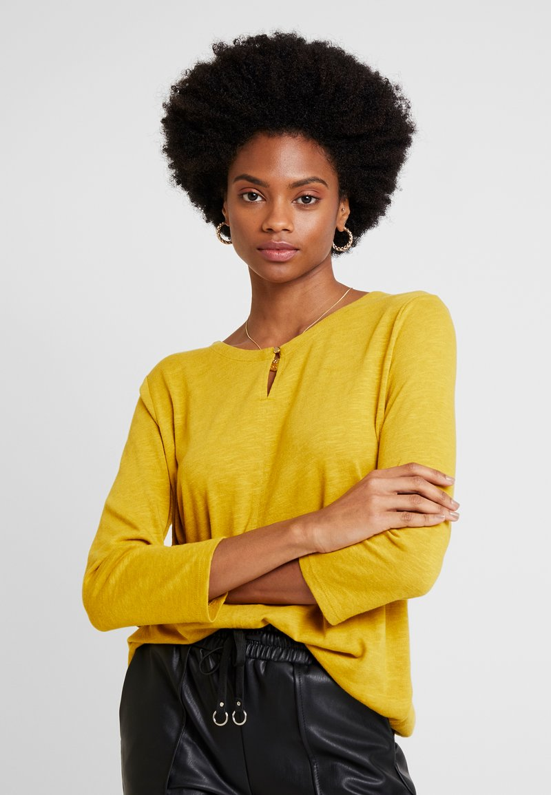 s.Oliver - 3/4 ARM - Long sleeved top - curry