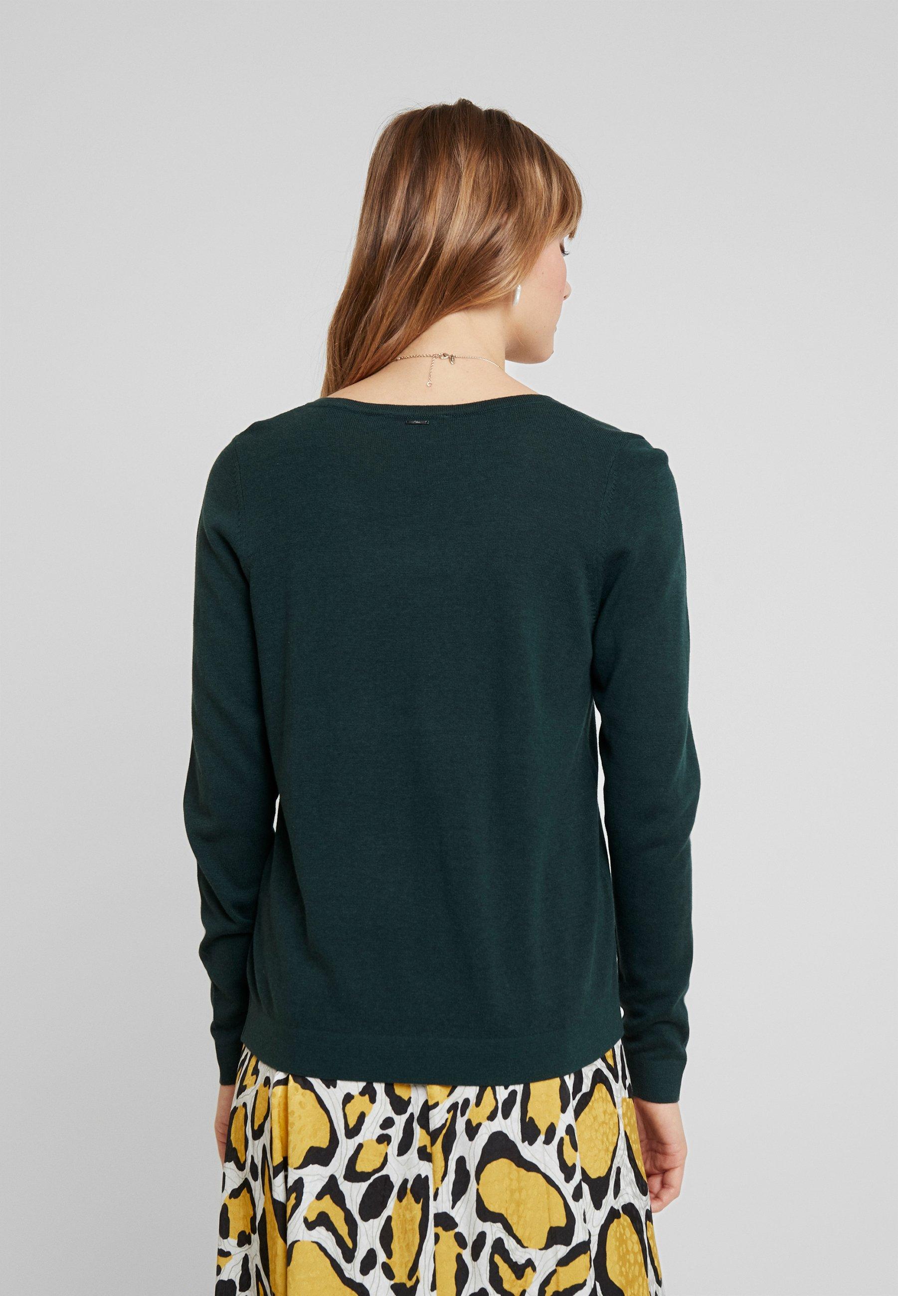 S S LangarmPullover Emerald oliver oliver LangarmPullover S Emerald oliver LangarmPullover vNn80mw