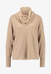 s.Oliver - Stickad tröja - sand melange - 4