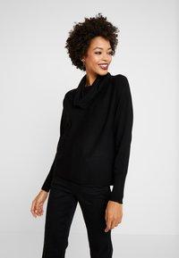 s.Oliver - Stickad tröja - black - 0