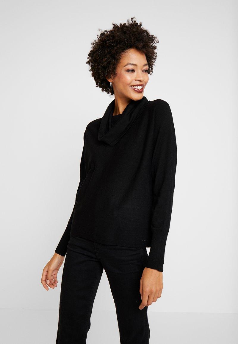 s.Oliver - Stickad tröja - black