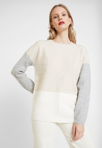 s.Oliver - LANGARM - Pullover - canvas - 0