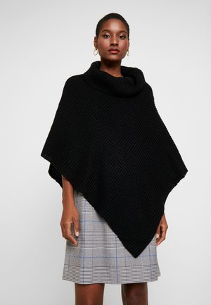 PONCHO - Cape - true black
