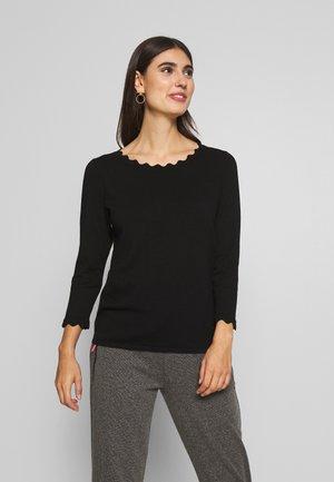 Sweter - true black