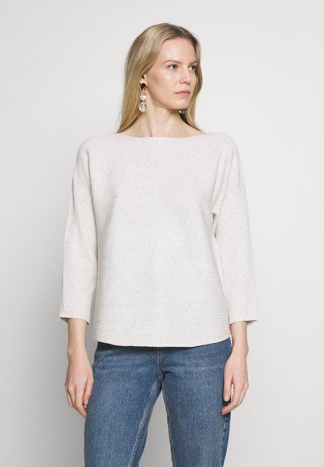LANGARM - Sweter - creme