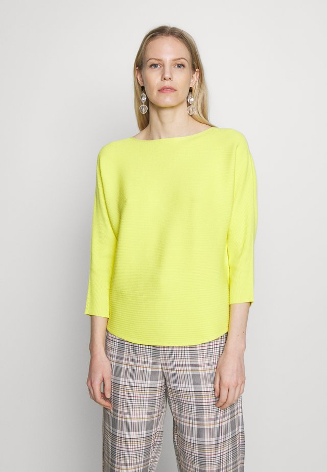 LANGARM - Svetr - yellow