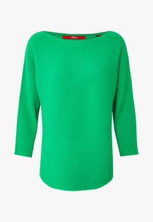 LANGARM - Jumper - neon green