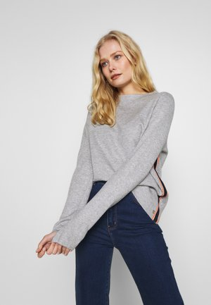 LANGARM - Sweter - grey melange