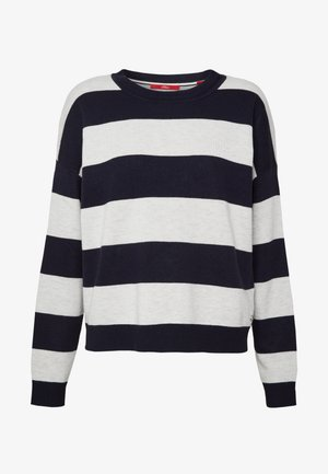 Jumper - navy strip