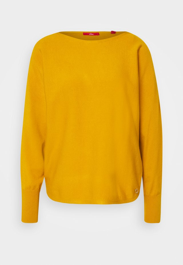 Strickpullover - yellow