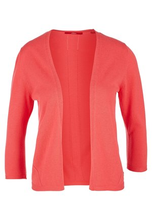 OPEN FRONT - Cardigan - coral