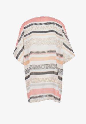 Cape - cream stripes