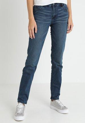 SMART STRAIGHT - Jeans straight leg - blue denim