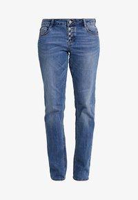 s.Oliver - SMART - Straight leg jeans - middle blue denim - 4