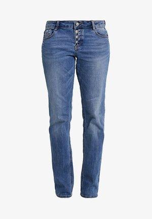 SMART - Straight leg jeans - middle blue denim
