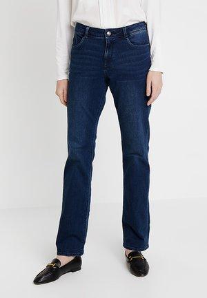 SMART BOOTCUT - Bootcut jeans - blue denim