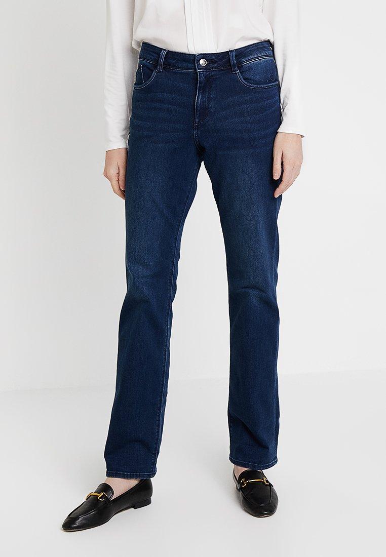 s.Oliver - SMART BOOTCUT - Jeans Bootcut - blue denim