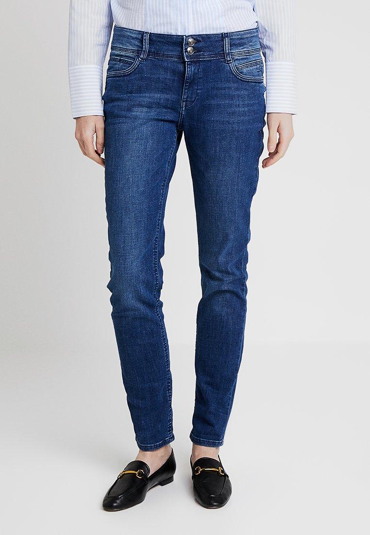 s.Oliver - SHAPE  - Jeans Straight Leg - amparo blue denim