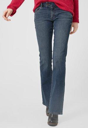 Jeans Bootcut - dark-blue denim