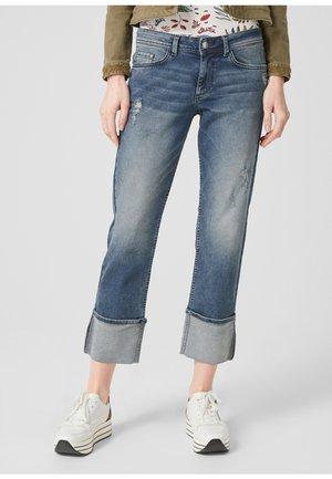 Jeans Straight Leg - blue denim stretch