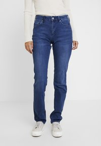 s.Oliver - SMART - Jeans straight leg - blue denim stretch - 0