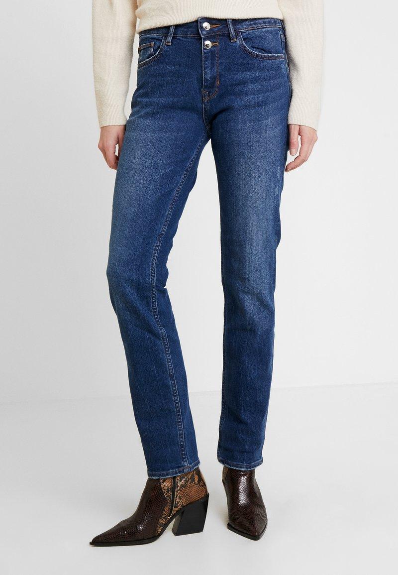 s.Oliver - SMART STRAIGHT - Jeans straight leg - blue