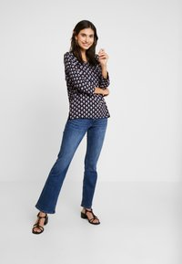 s.Oliver - Bootcut jeans - blue denim stretch - 1
