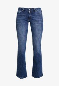s.Oliver - Bootcut jeans - blue denim stretch - 3