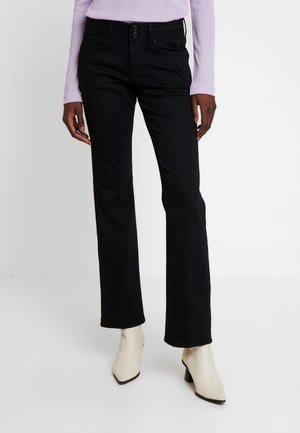 SHAPE - Jeans Bootcut - black denim