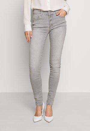 HOSE LANG - Jeans Skinny - grey denim