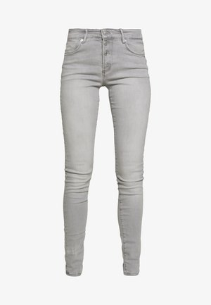 HOSE LANG - Jeans Skinny Fit - grey denim