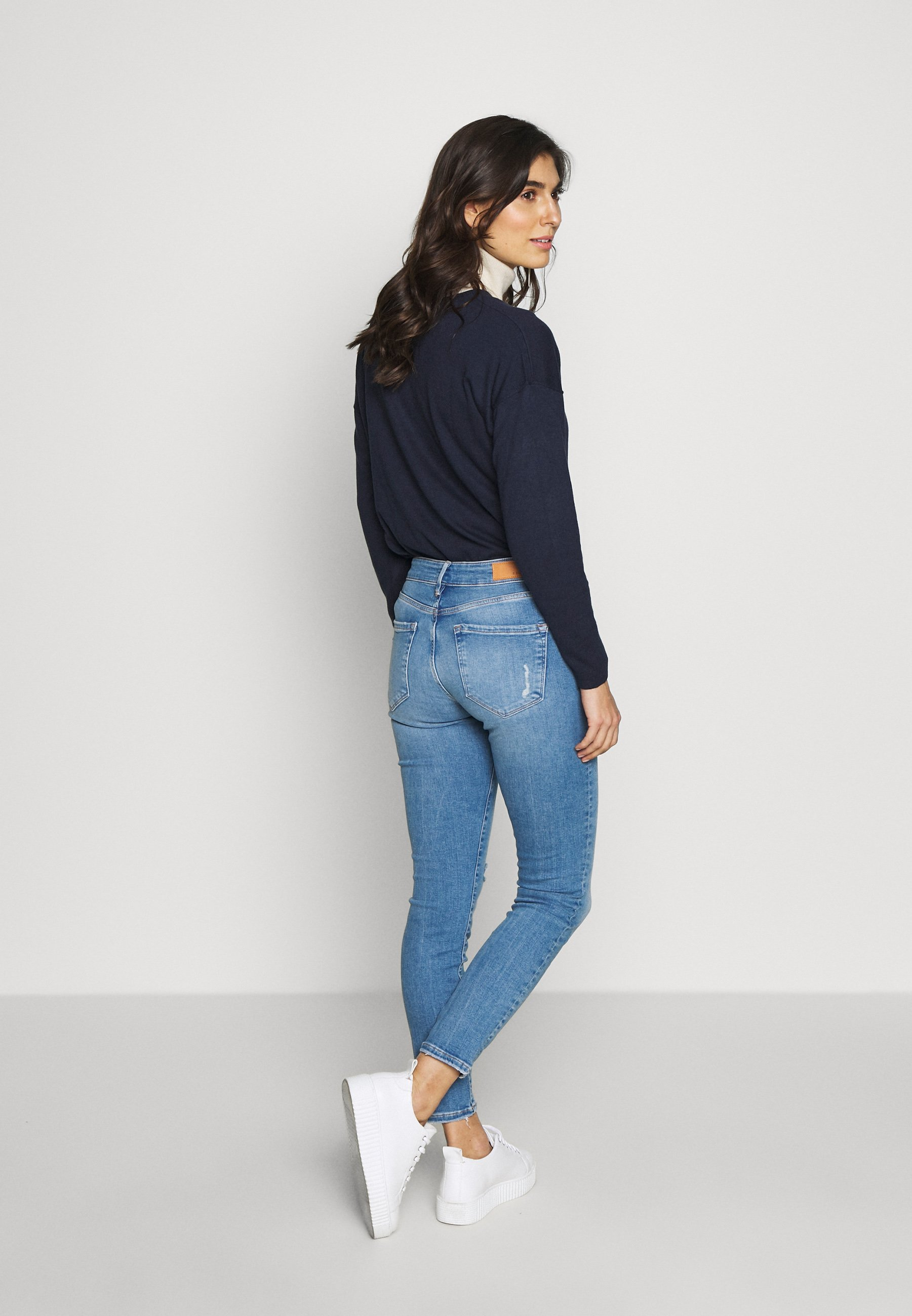 s.Oliver Jeansy Slim Fit - blue denim