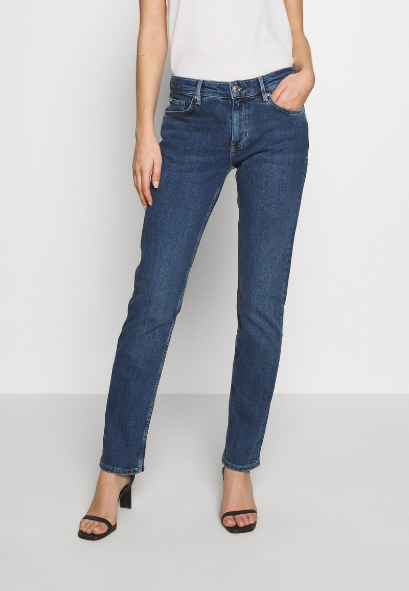 s.Oliver - HOSE LANG - Jeans straight leg - blue denim