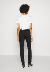 s.Oliver - LANG - Slim fit jeans - black - 2