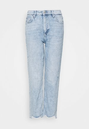 Jeans baggy - soft blue denim