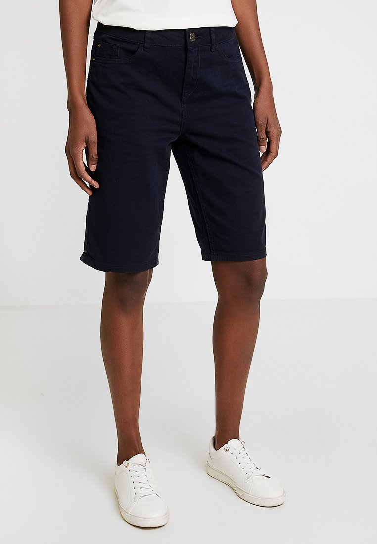 s.Oliver - SMART BERMUDA - Jeans Shorts - navy
