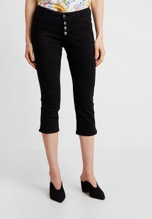 SHAPE CAPRI - Szorty jeansowe - black denim