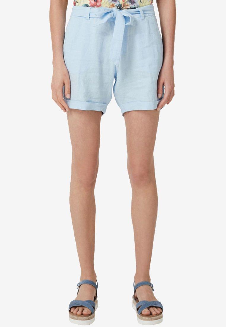 s.Oliver - Shorts - light blue