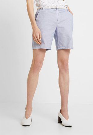 Shorts - light blue wave dobby