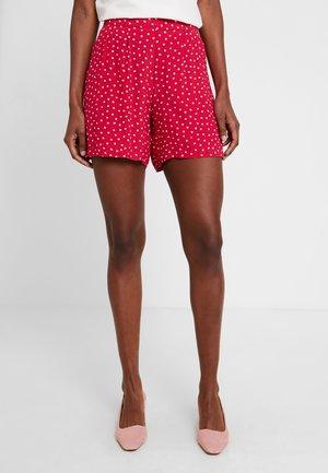 HOSE KURZ - Shorts - dark pink